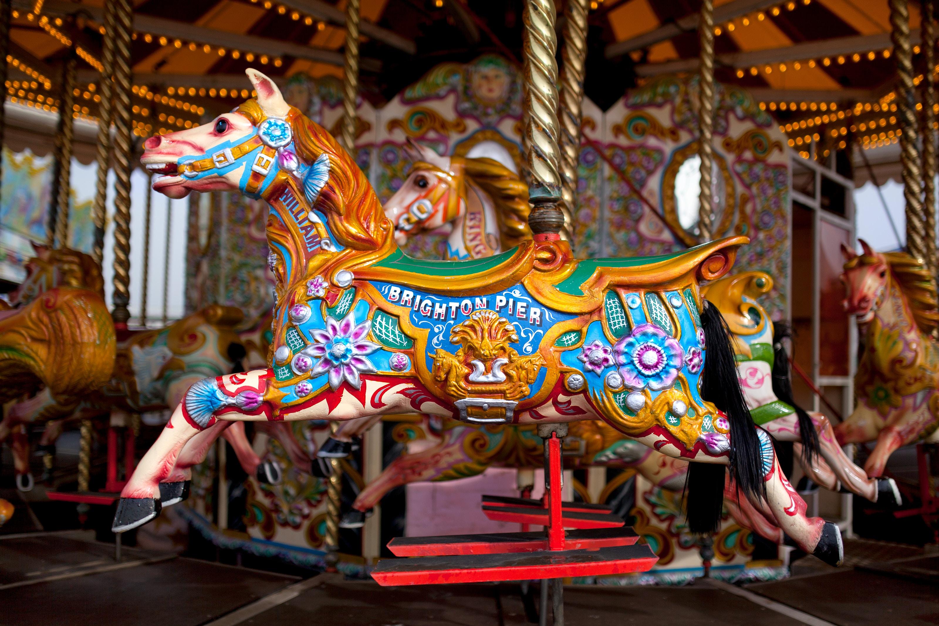 brighton pier horse
