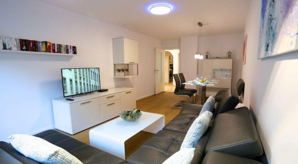 Lounge Area Munich Serviced Apartment