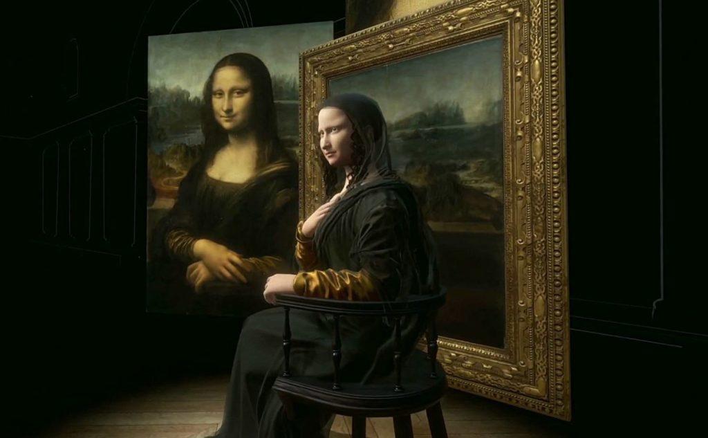 Mona Lisa Virtual Reality