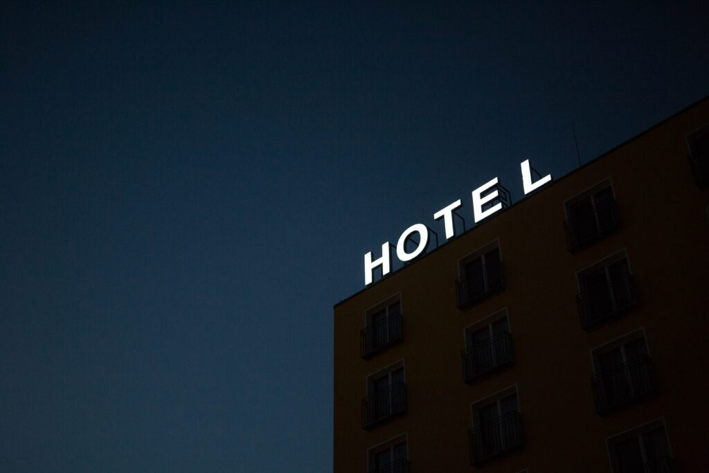 Mandatory quarantine in a hotel