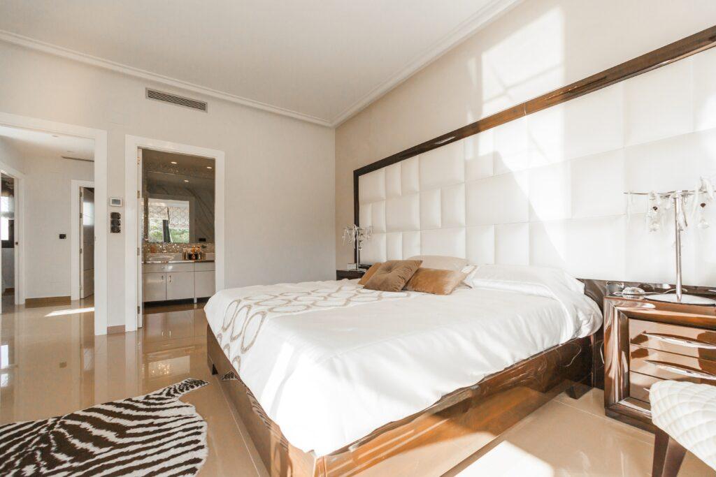 Essential worker bedrooms