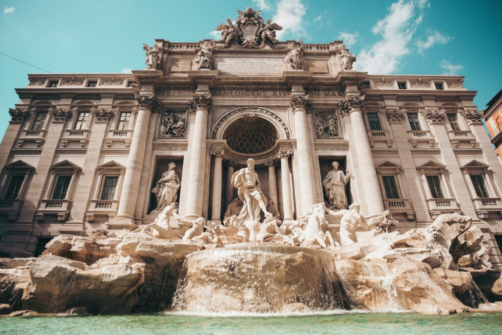Where is Visit in Rome - The Trevi Fountain