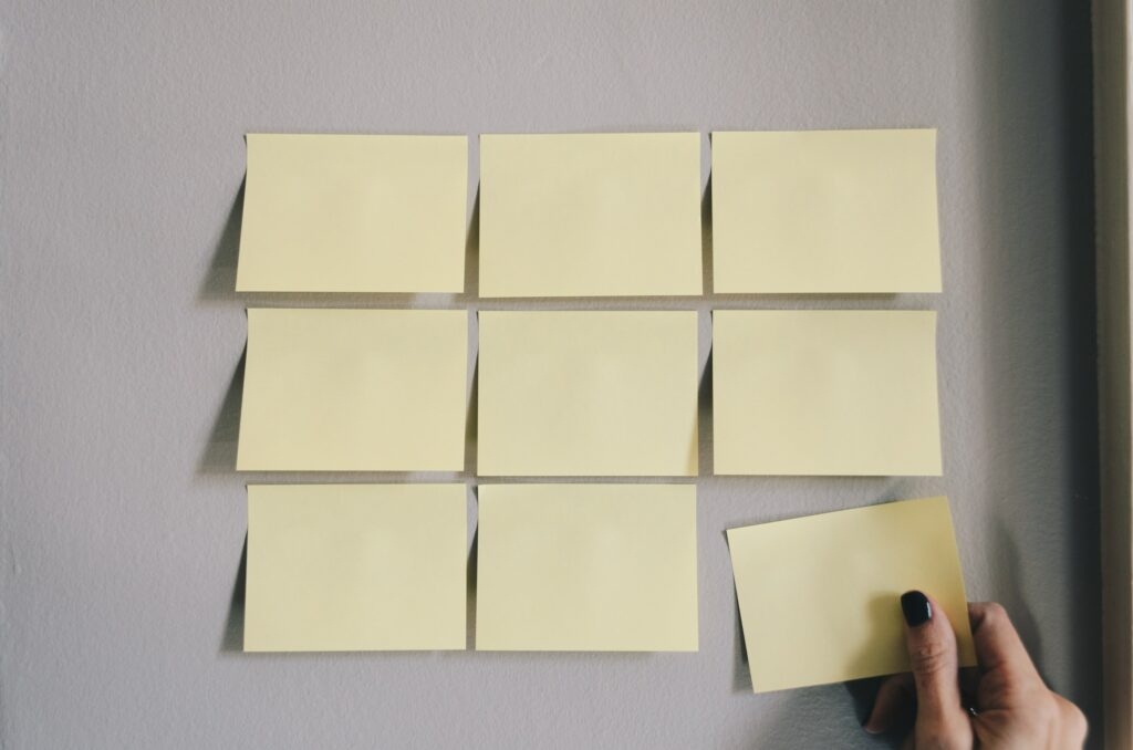 Write it down- Top Tips for Productivity at Work